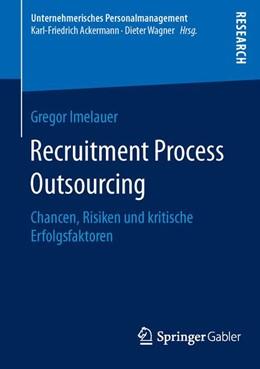 Abbildung von Imelauer | Recruitment Process Outsourcing | 1. Auflage | 2016 | beck-shop.de