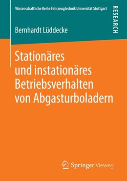 Abbildung von Lüddecke   Stationäres und instationäres Betriebsverhalten von Abgasturboladern   1. Auflage   2016   beck-shop.de