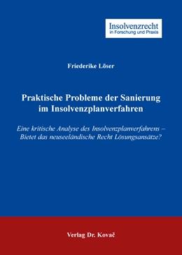 Abbildung von Löser   Praktische Probleme der Sanierung im Insolvenzplanverfahren   1. Auflage   2016   102   beck-shop.de