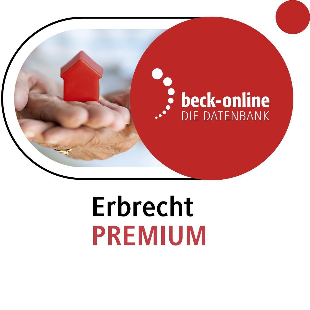 beck-online. Erbrecht PREMIUM (Cover)