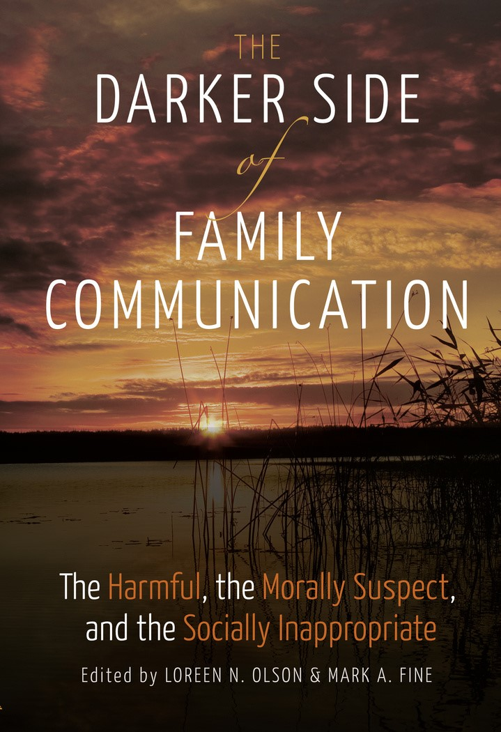 The Darker Side of Family Communication | Olson / Fine, 2016 | Buch (Cover)