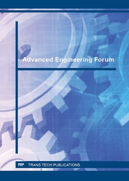 Abbildung von Advanced Engineering Forum Vol. 15 | 2016 | The results of research and en... | Volume 15