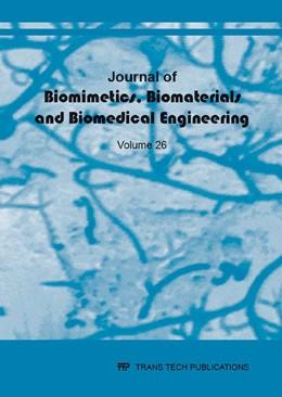 Abbildung von Journal of Biomimetics, Biomaterials and Biomedical Engineering Vol. 26 | 2016 | Biomimetic approaches in desig...