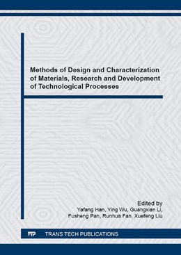 Abbildung von Han / Wu / Li / Pan / Fan / Liu | Methods of Design and Characterization of Materials, Research and Development of Technological Processes | 2016 | This is the proceedings of the...
