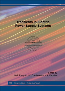 Abbildung von Pivnyak / Zhezhelenko / Papaika | Transients in Electric Power Supply Systems | 2016 | The book consists of introduct...