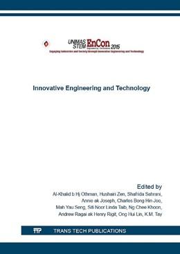 Abbildung von Hj Othman / Zen / Sahrani / Joseph / Hin Joo / Seng / Taib / Ng / Henry Rigit / Ong / Tay | Innovative Engineering and Technology | 2016 | The UNIMAS STEM Engineering Co... | Volume 833