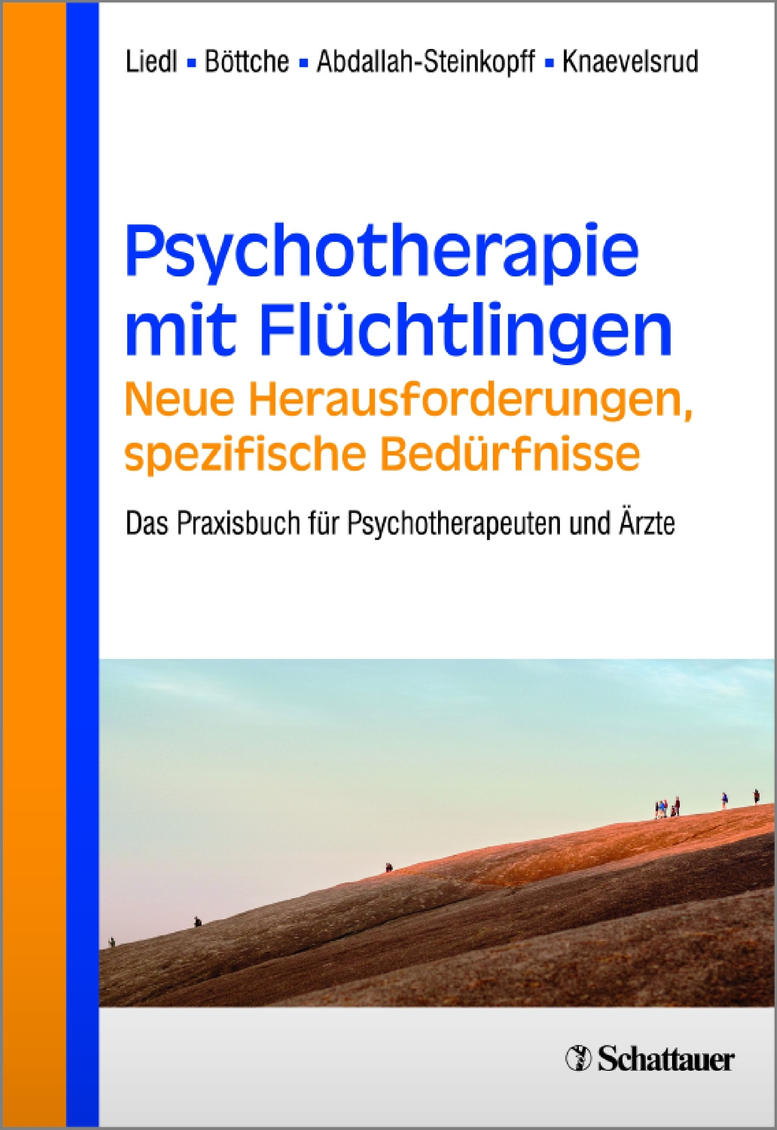 Psychotherapie mit Flüchtlingen - neue Herausforderungen, spezifische Bedürfnisse | Liedl / Böttche / Abdallah-Steinkopff / Knaevelsrud, 2016 | Buch (Cover)