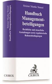 Handbuch Managementbeteiligungen | Holzner / Mantke / Stenzel, 2017 | Buch (Cover)