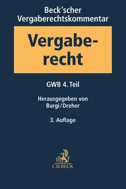 Abbildung von Beck'scher Vergaberechtskommentar - Zweibändige Ausgabe, Band 1: Gesetz gegen Wettbewerbsbeschränkungen - GWB - 4. Teil | 3. Auflage | 2017 | beck-shop.de
