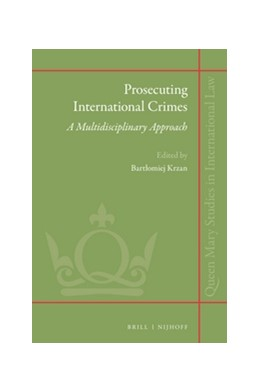Abbildung von Krzan | Prosecuting International Crimes: A Multidisciplinary Approach | 342 pp. | 2016