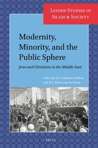 Abbildung von Goldstein-Sabbah / Murre-van den Berg | Modernity, Minority, and the Public Sphere: Jews and Christians in the Middle East | 2016