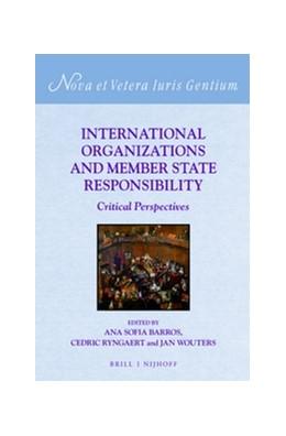Abbildung von Barros / Ryngaert / Wouters | International Organizations and Member State Responsibility | 2016