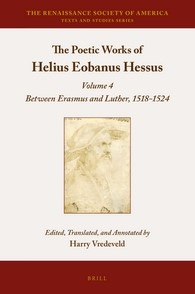 Abbildung von Vredeveld | The Poetic Works of Helius Eobanus Hessus | 2016