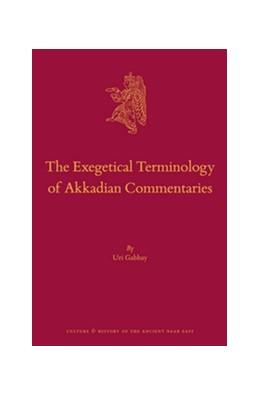 Abbildung von Gabbay | The Exegetical Terminology of Akkadian Commentaries | 2016 | 82