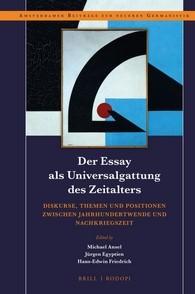Abbildung von Der Essay als Universalgattung des Zeitalters | 2016