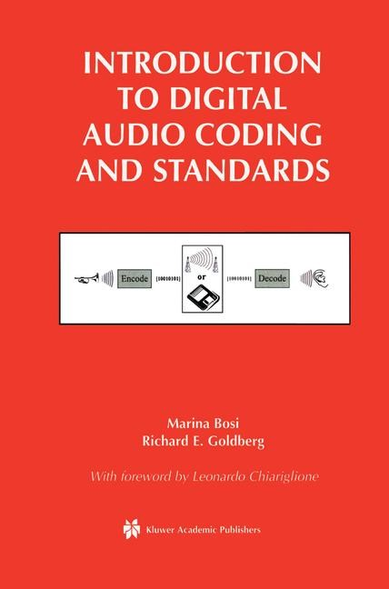 Introduction to Digital Audio Coding and Standards | Bosi / Goldberg, 2002 | Buch (Cover)