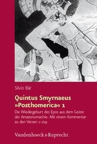 Quintus Smyrnaeus »Posthomerica« 1 | Bär | Aufl., 2010 | Buch (Cover)