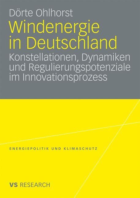 Windenergie in Deutschland | Ohlhorst, 2009 | Buch (Cover)