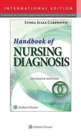 Abbildung von Carpenito | Handbook of Nursing Diagnosis | 2016 | Application to Clinical Practi...