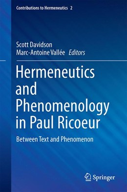 Abbildung von Davidson / Vallée | Hermeneutics and Phenomenology in Paul Ricoeur | 1. Auflage | 2016 | 2 | beck-shop.de