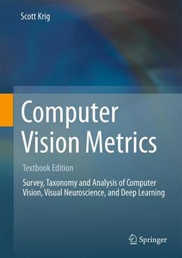 Abbildung von Krig   Computer Vision Metrics   1. Auflage   2016   beck-shop.de