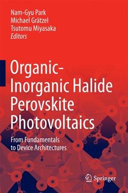 Abbildung von Park / Grätzel   Organic-Inorganic Halide Perovskite Photovoltaics   1. Auflage   2016   beck-shop.de