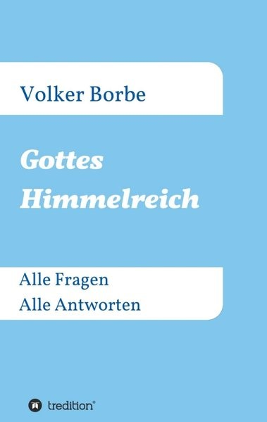 Gottes Himmelreich | Borbe, 2016 | Buch (Cover)