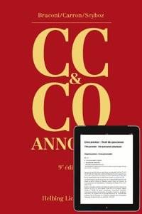 Code civil suisse et Code des obligations annotés (CC & CO) | Braconi / Carron / Scyboz | 9ième édition 2012, 2012 | Buch (Cover)