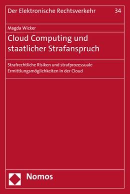 Abbildung von Wicker | Cloud Computing und staatlicher Strafanspruch | 2016 | Strafrechtliche Risiken und st... | 34