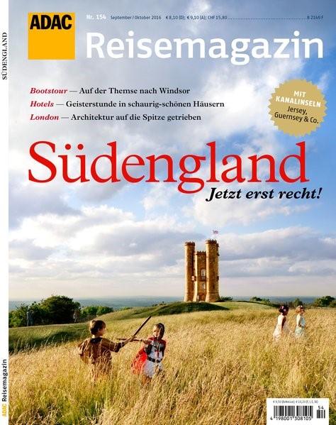 ADAC Reisemagazin Südengland, 2016 | Buch (Cover)
