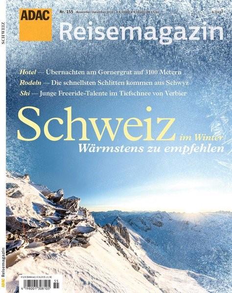 ADAC Reisemagazin Schweiz, 2016 | Buch (Cover)