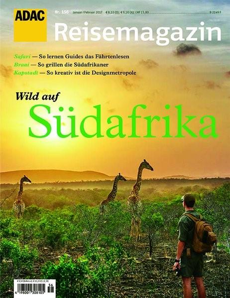 ADAC Reisemagazin Südafrika, 2016 | Buch (Cover)