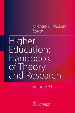 Abbildung von Paulsen | Higher Education: Handbook of Theory and Research | 1st ed. 2016 | 2016