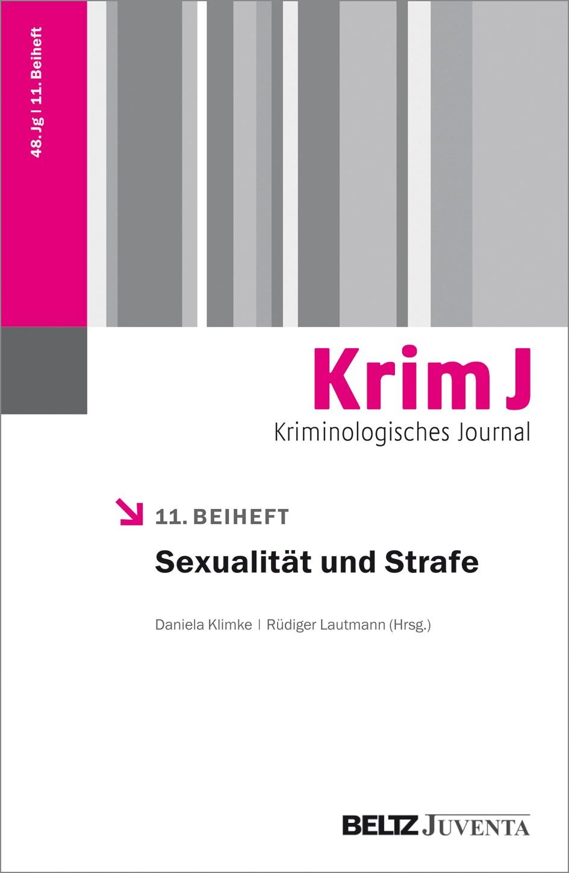 Abbildung von Klimke / Lautmann | Sexualität und Strafe | 2016