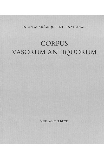Cover: , Corpus Vasorum Antiquorum Deutschland Bd. 100:  Bonn Band 4