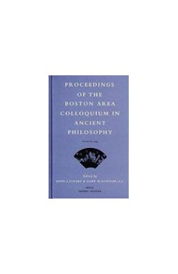 Abbildung von Cleary / Gurtler | Proceedings of the Boston Area Colloquium in Ancient Philosophy | 2005 | Volume XX (2004) | 20