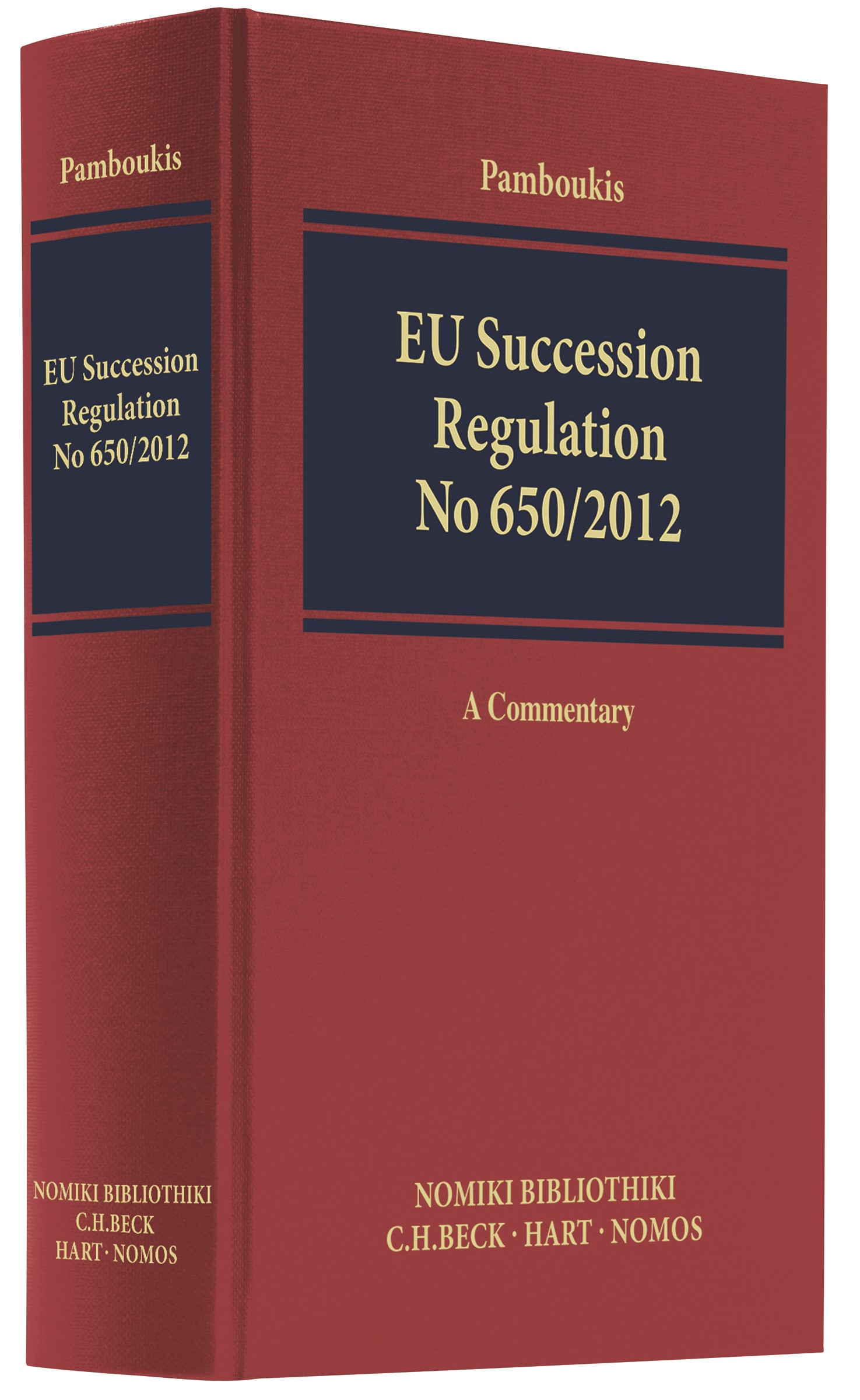EU Succession Regulation No 650/2012 | Pamboukis, 2017 | Buch (Cover)