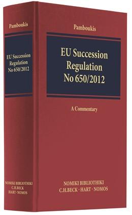 Abbildung von Pamboukis | EU Succession Regulation No 650/2012 | 1. Auflage | 2017 | beck-shop.de