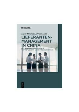 Abbildung von Helmold / Terry   Lieferantenmanagement in China   1. Auflage   2017   beck-shop.de