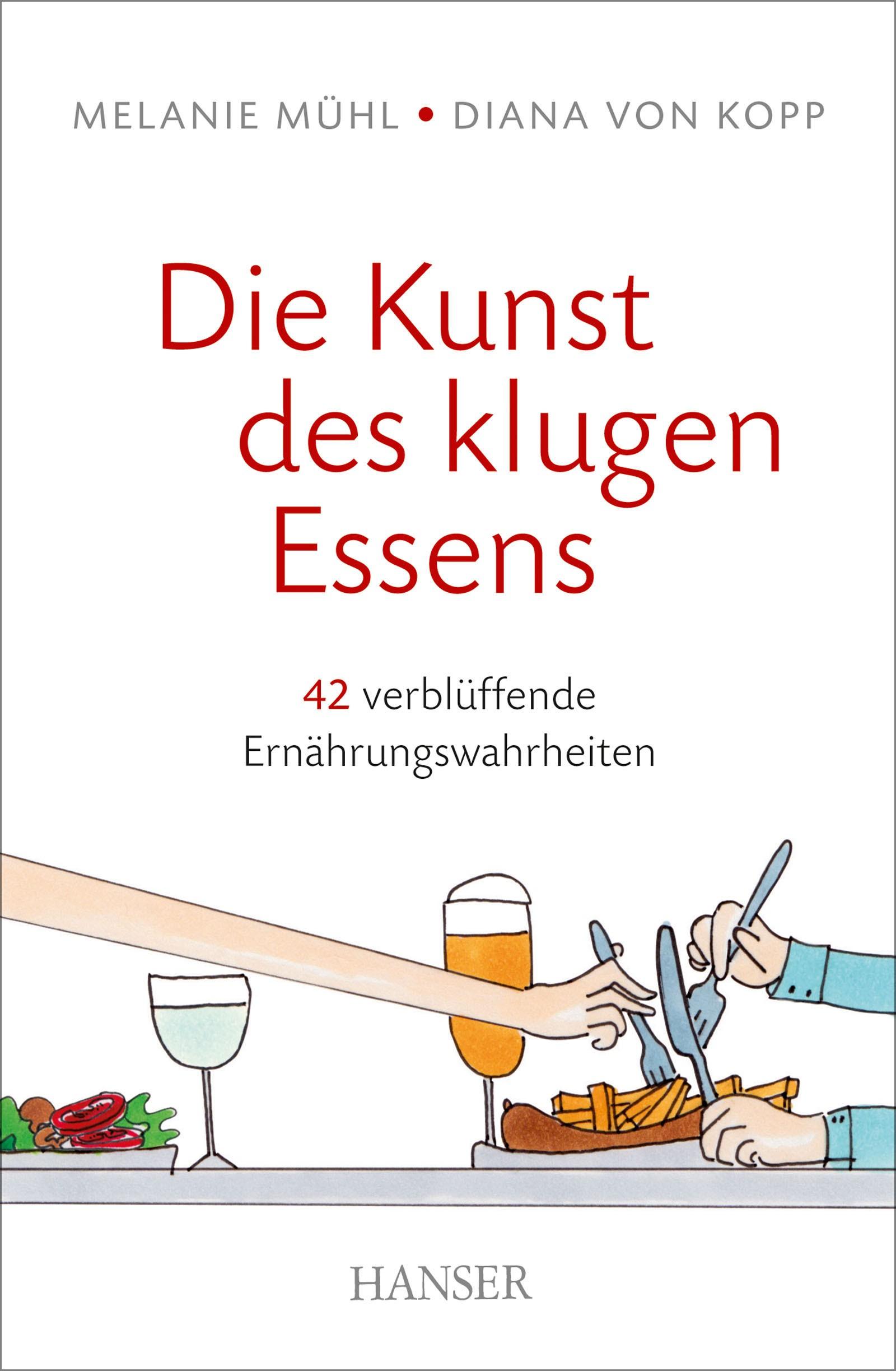 Die Kunst des klugen Essens   Mühl / von Kopp, 2016   Buch (Cover)