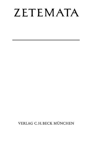 Cover: Will Richter, Textstudien zu Lukrez