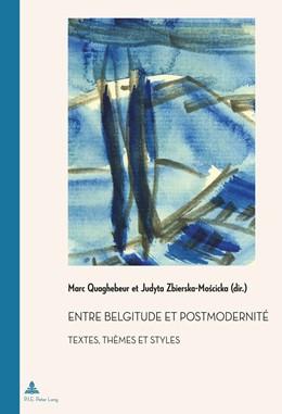Abbildung von Quaghebeur / Zbierska-Moscicka | Entre belgitude et postmodernité | 1. Auflage | 2015 | 41 | beck-shop.de