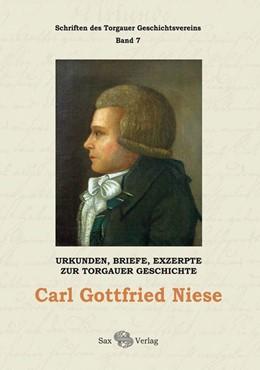 Abbildung von Herzog | Carl Gottfried Niese | 1. Auflage | 2014 | beck-shop.de
