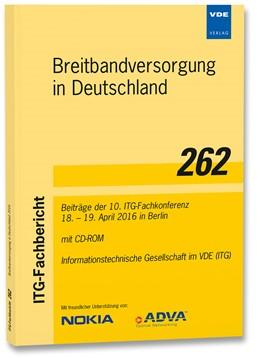Abbildung von ITG-Fb. 262: Breitbandversorgung in Deutschland | 1. Auflage | 2016 | beck-shop.de