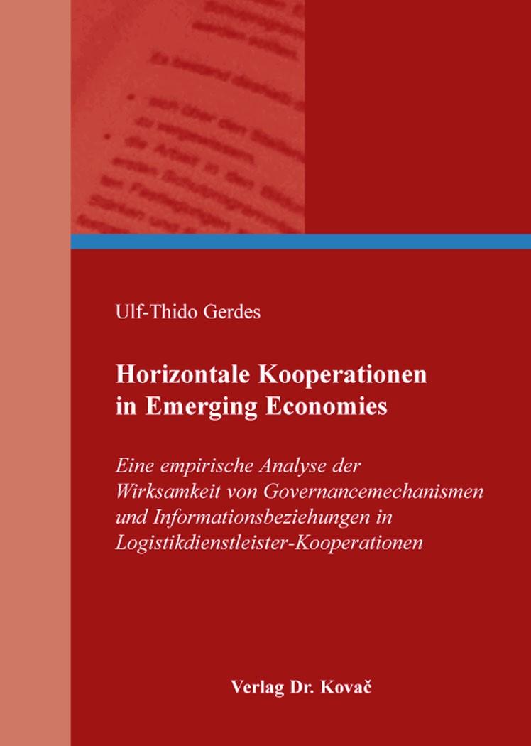 Abbildung von Gerdes   Horizontale Kooperationen in Emerging Economies   2016