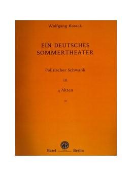 Abbildung von Ein deutsches Sommertheater   1. Auflage   2016   beck-shop.de