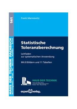 Abbildung von Mannewitz | Statistische Toleranzberechnung | 2016 | Leitfaden zur systematischen A...