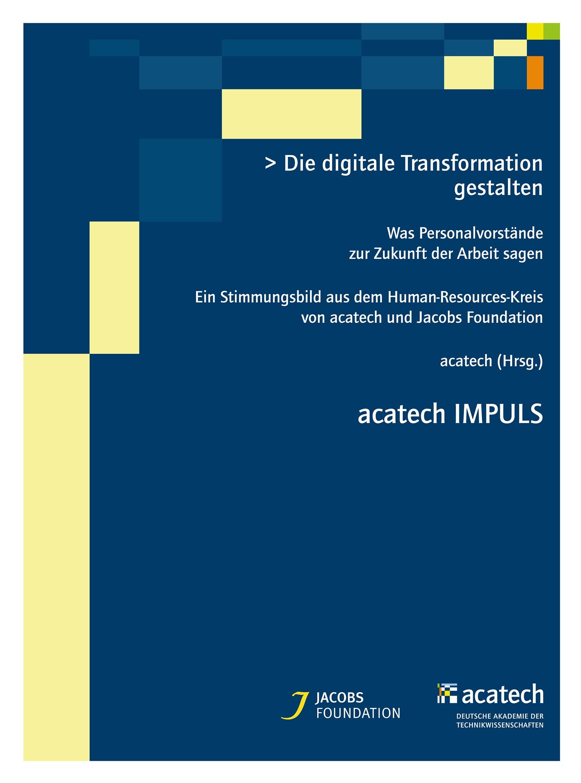 Die digitale Transformation gestalten | acatech, 2016 | Buch (Cover)
