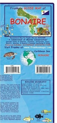 Abbildung von Bonaire Guide Map and Fishcard | 2018