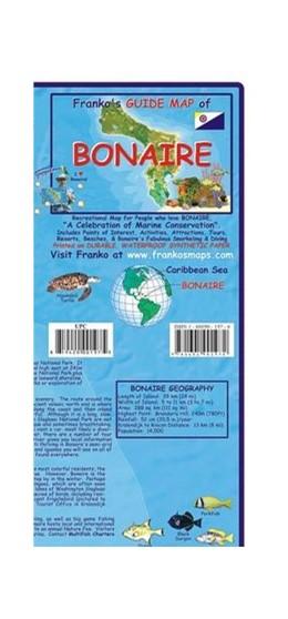Abbildung von Bonaire Guide Map and Fishcard | 2018 | Tauch- und Schnorchel Freizeit...
